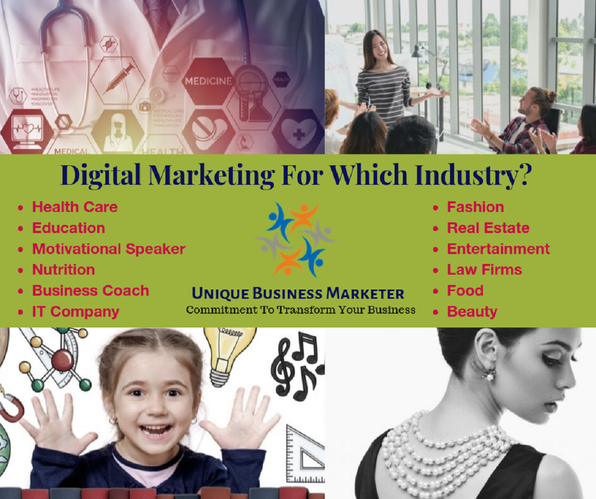 Digital marketing solution for different industry